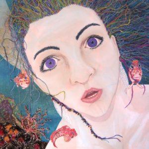 Pearls of Wisdom (detail) by Fi Bowman