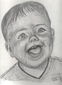 My Grandson Conor by John Prince