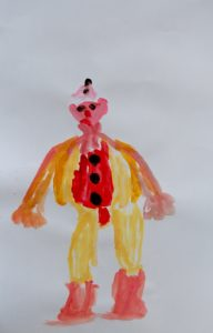 Pantaleon the Clown by Pennie Galletly