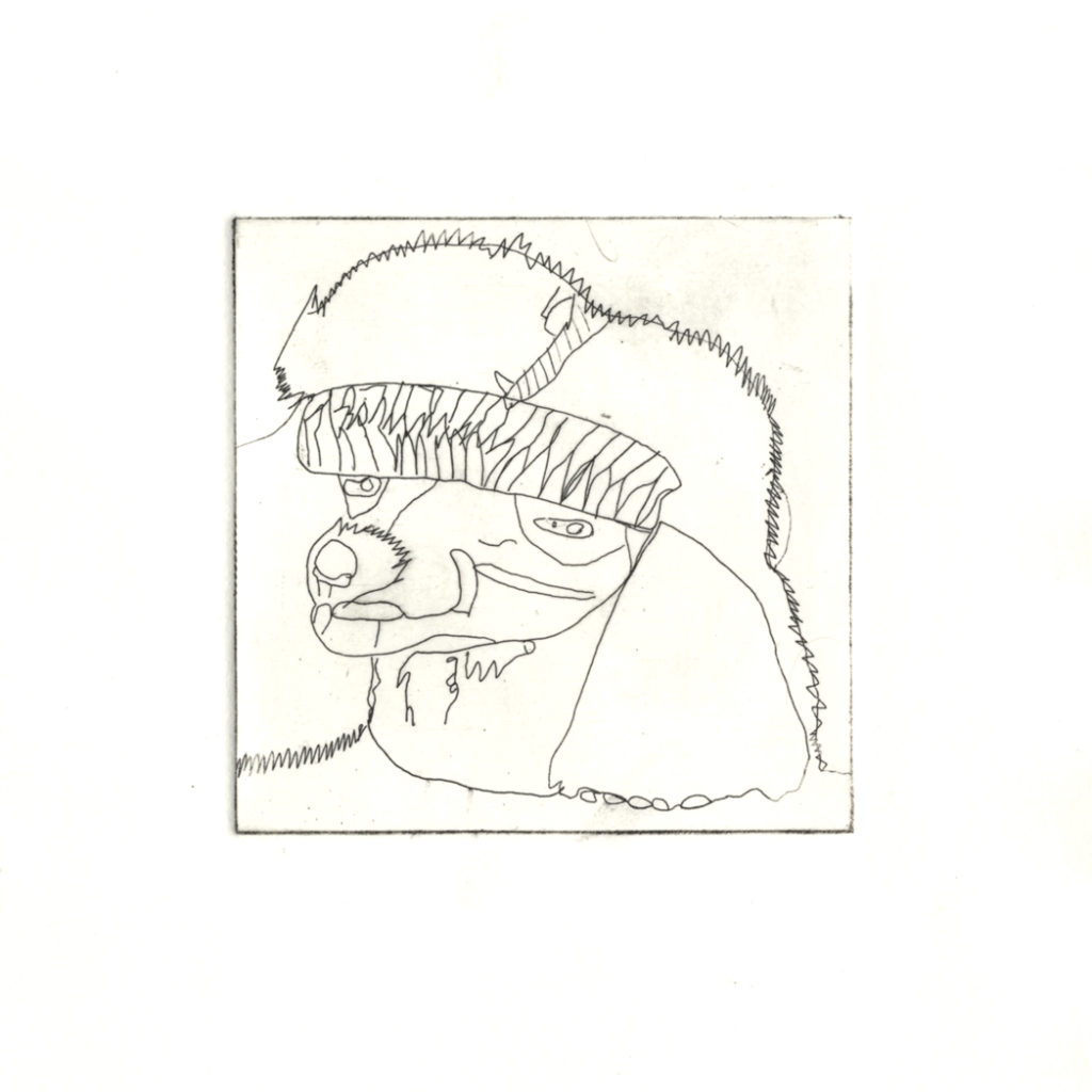 11871    2366    penny peaches    1 of 5 etchings £50.00    4766
