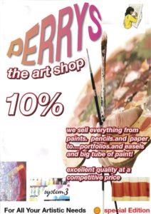 Perrys poster design by shjbudd