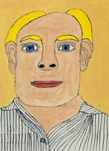 Self Portrait by Peter Sutton