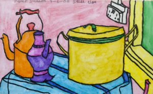 Still Life with Kettle by Peter Sutton