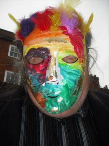 Pheonix Mask by Martin Glanville