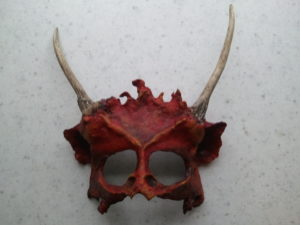 demon mask by Simon Aronson