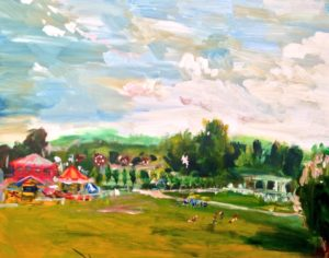The Fair In Priory Park by Sam Richardson