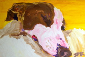 Fausto Sleeping by Sam Richardson