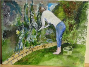 Green fingers. by Michael Spencer