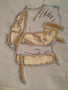 stright jacket by Elizabeth Wingate