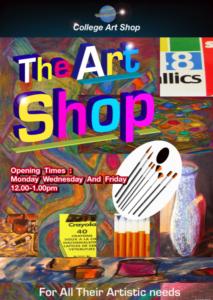 perrys art shop poster by shjbudd