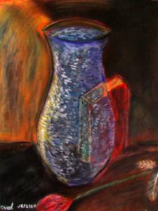 vase with book by shjbudd