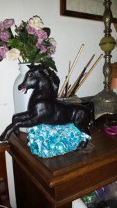 Wild horse side veiw by VJ Francis