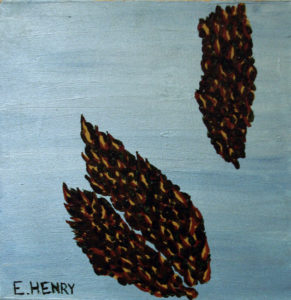 Pinecones by Edward Henry