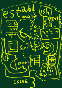 Establishment cover sample by LEANNE BRIDGEWATER