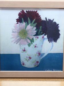 Pink Van Gogh by Katie Howe