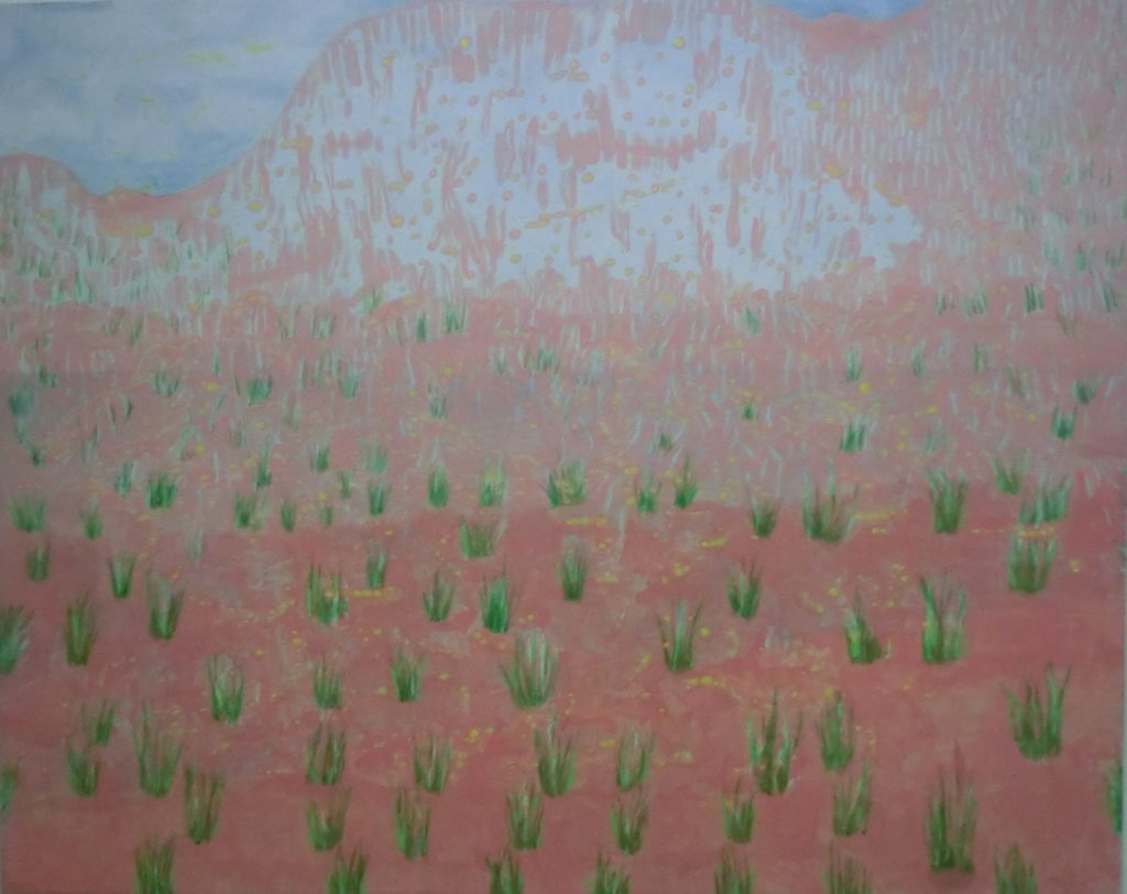 25946 || 4074 || ROSE-TINTED LANDSCAPE || If you intend to put this work up for sale || 6967
