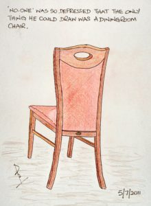 The Dining Room Chair by Peter Moore