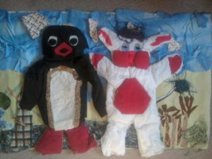 pingu and popple by chloe honey