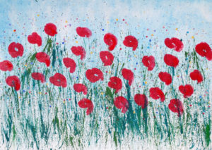 Poppy Kisses by Alison Kay