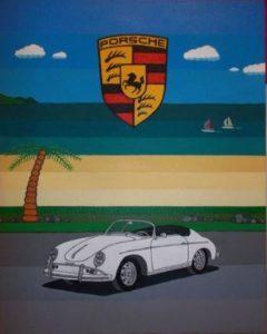 Porsche 356 by PAUL COCKRAM