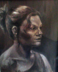 Portrait of young woman by Moira Taylor