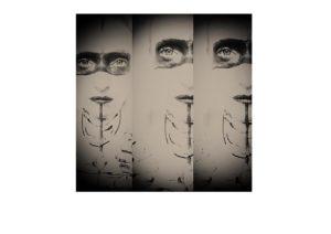 Mask and Bone x 3 by purplerose creativeservices @gmail.com