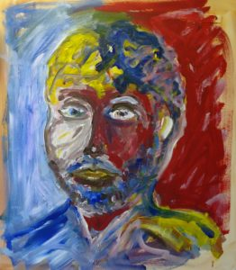 self portrate 4 by Stephen White