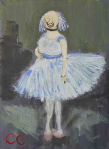Pretty Me. After Degas. by Colin Cameron