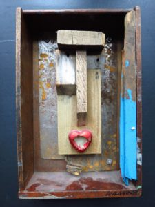Primitive and Pop No 1 by Phil Wildman