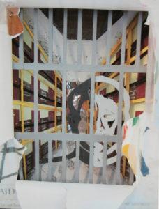 Prison Art Book (detail two) by Stephen Mundy