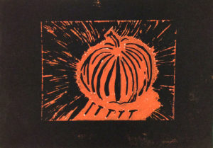 Pumpkin Print by Jason Locke