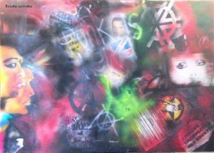 Punk 1 by Malcolm Darling