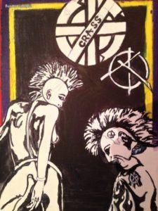 Punk 2 by Malcolm Darling