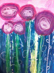 Purple heads by Marieanne Greenlees
