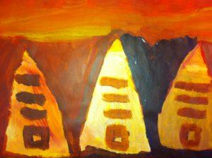 Pyramids by Cori King