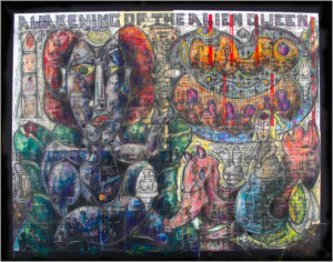 Awakening Of The Alien Queen by Howard B. Johnson Jr.