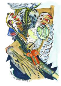 Down the Rabbit-hole by Marianne Sturtridge
