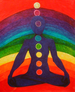 Rainbow Meditation by Lesley