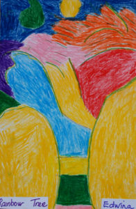 Rainbow Tree by Edwina Slinn