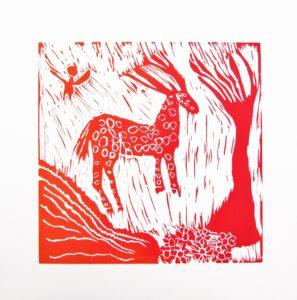 Red Deer by Rachel Summers