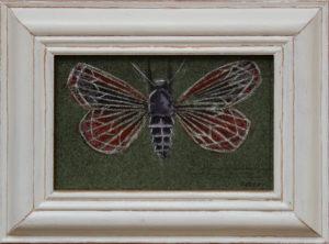 Red Moth by Otis Berry