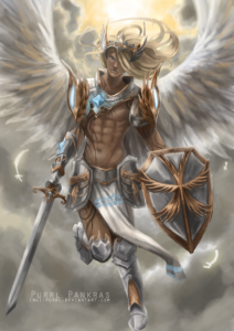 Angel Knight by Libby Durose