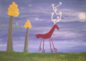reindeer by Pa Ge