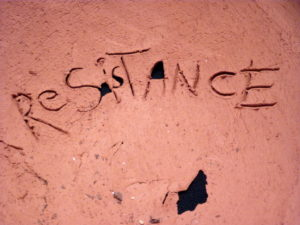Resistance: detail (from 'HOW TO BE STRONG') by Nicola Field
