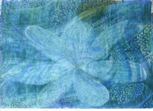 Flower of Blue by susan taylor
