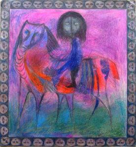 Horseman by Richard C Smith