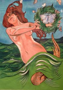 Riding the Waves by David Jones