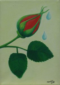 rose_bud_2 by Theresa Cope