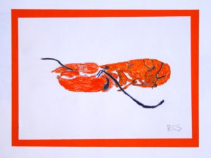 Lobster by Royd Sanders