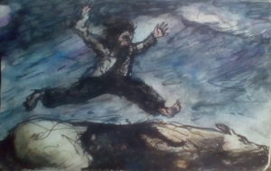 Leaping Over A Dead Horse…. by Michael Hayter
